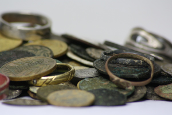 treasure metal detector findings
