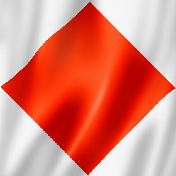 foxtrot international maritime signal flag
