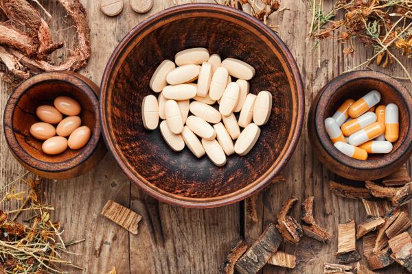 herbal medicine in pill