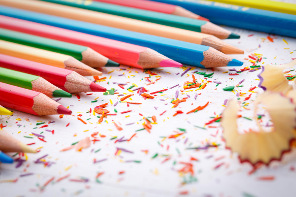 bright sharp pencils are ready for
