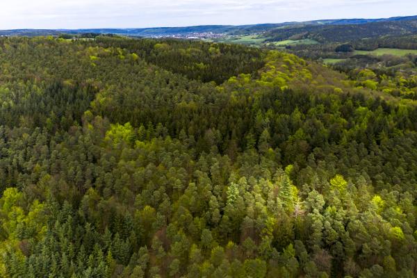 germany hesse aerial view