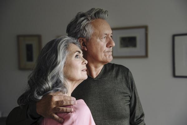 portrait of a senior couple at