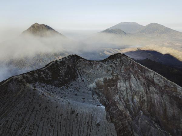 indonesia java aerial view