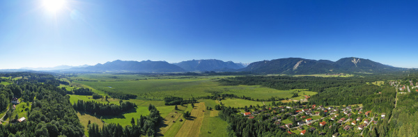 panoramic view of murnauer moos in