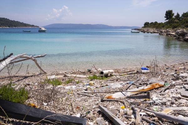 croatia split coastal beach