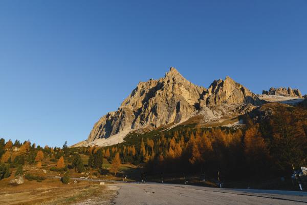 autumn mountain landscape dolomites