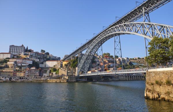 portugal porto dom luis i bridge
