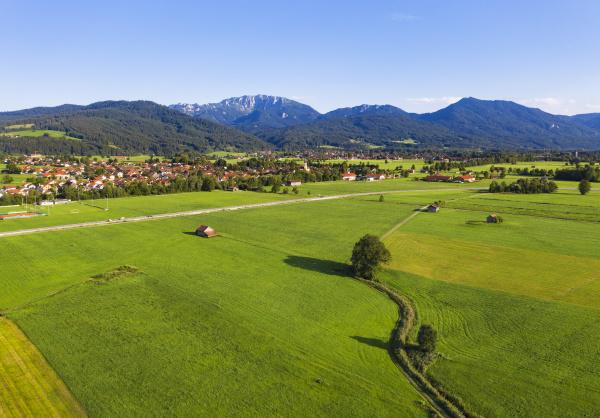 scenic view of landscape at bichl