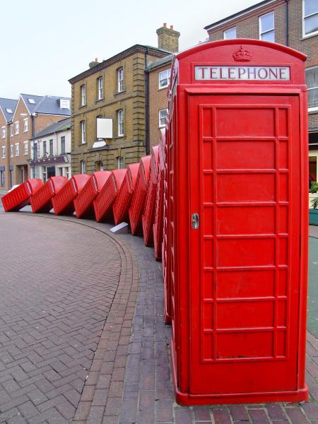 telephone, boxes - 28039249