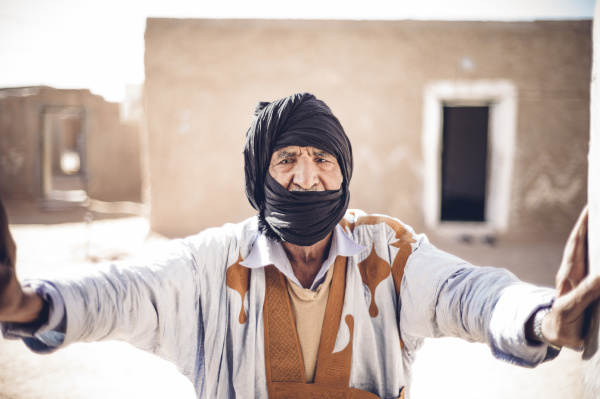 portrait of a senior man in