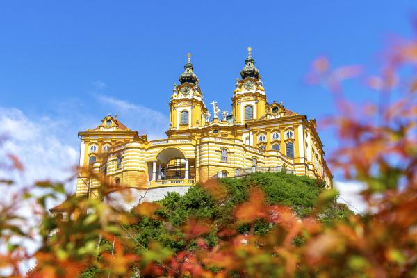 austria wachau low angle