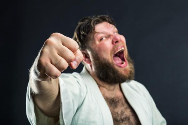 aggressive, karateka - 28076887