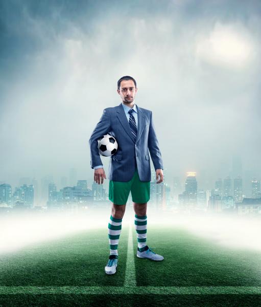businessman, in, sportwear - 28076641