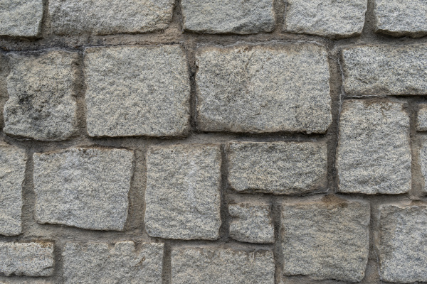 texture of the granite stone wall