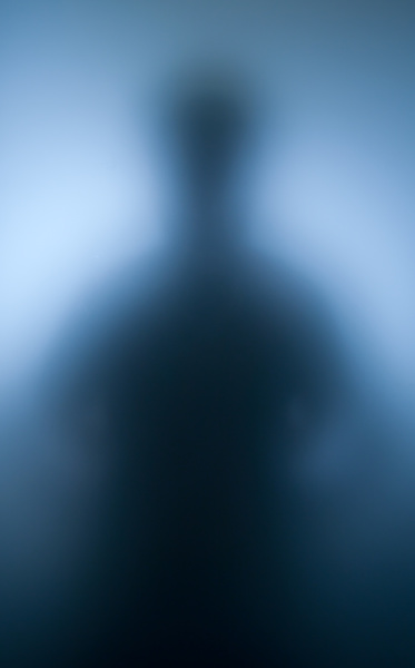 silhouette of human spirit