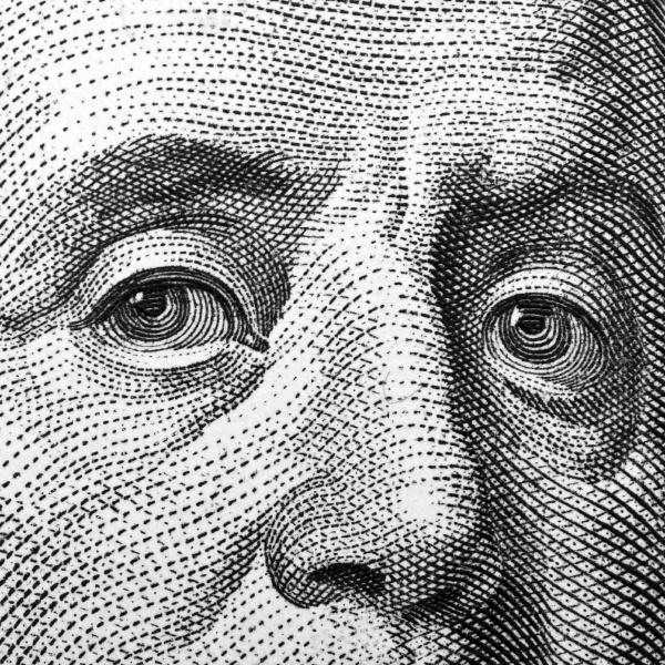 one hundred bill franklin portrait
