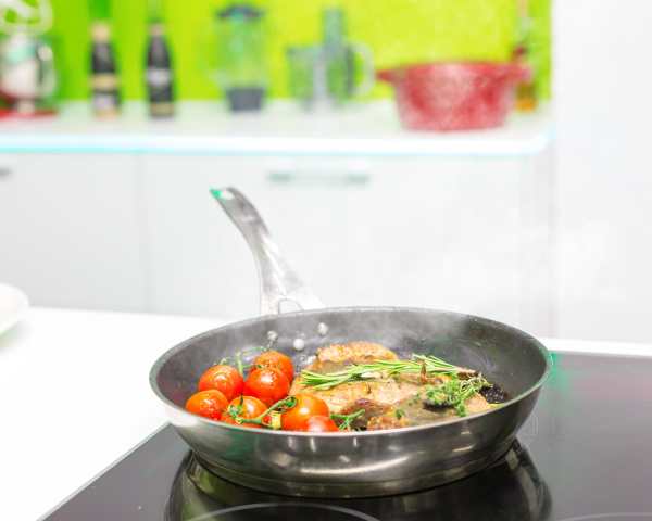 cooked meat with vegetables