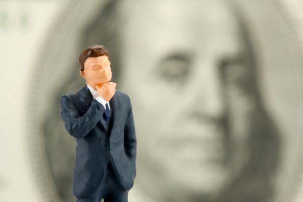figurine of wisdom businessman