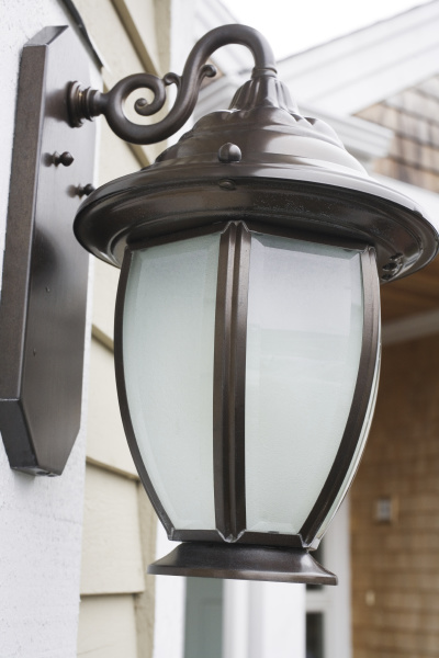 close up of a lamp