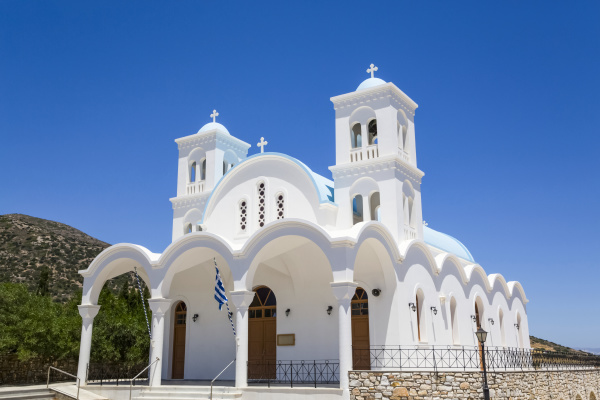 church of aspro horio drios village