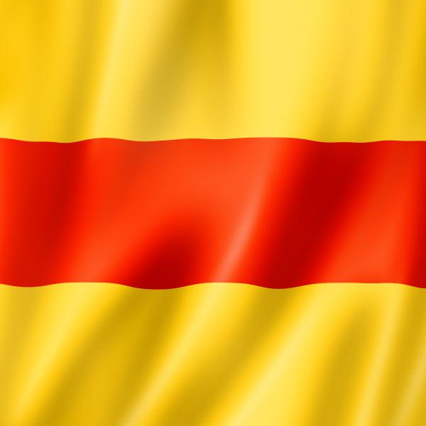 two international maritime signal flag