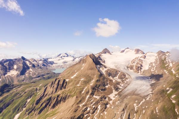 aerial view of obergoms switzerland