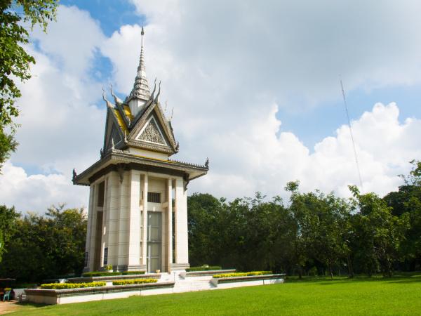 choeung ek stupa
