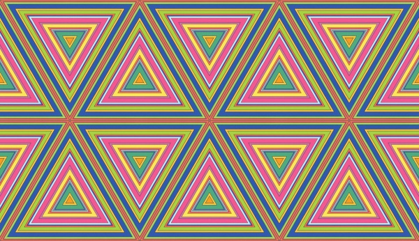 seamless repeating triangle pattern tile