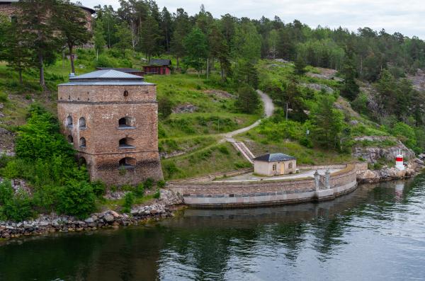 fredriksborg fortress towers