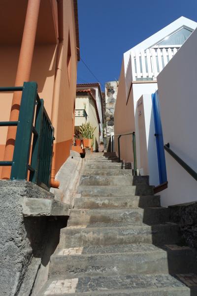 stairway in jardim do mar madeira
