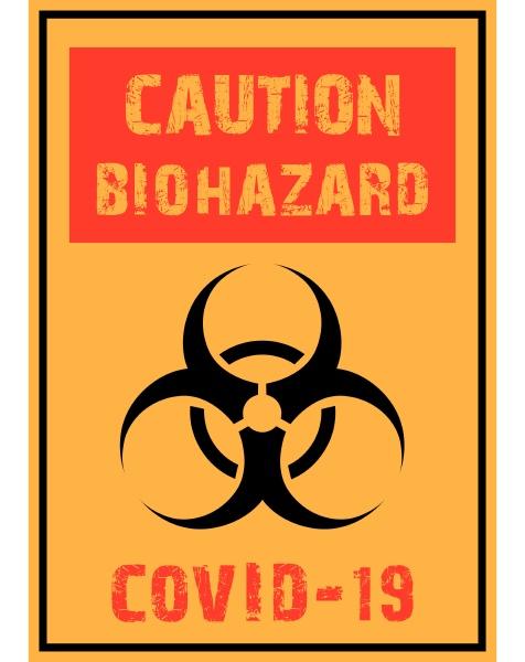 caution, sign, covid, -19 - 28215873