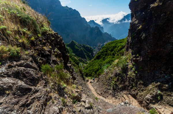 from, mountain, pico, arieiro, to, pico - 28215327