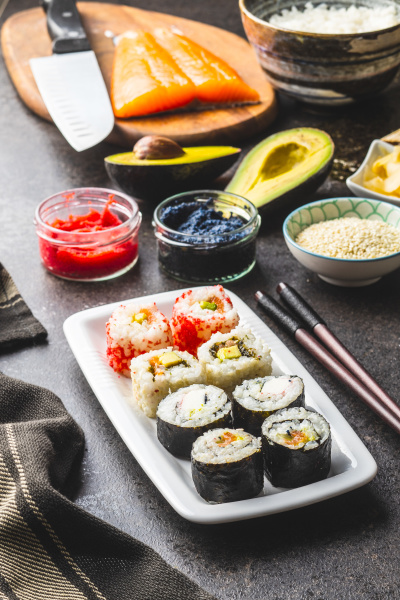 japanese, sushi, food. - 28237960
