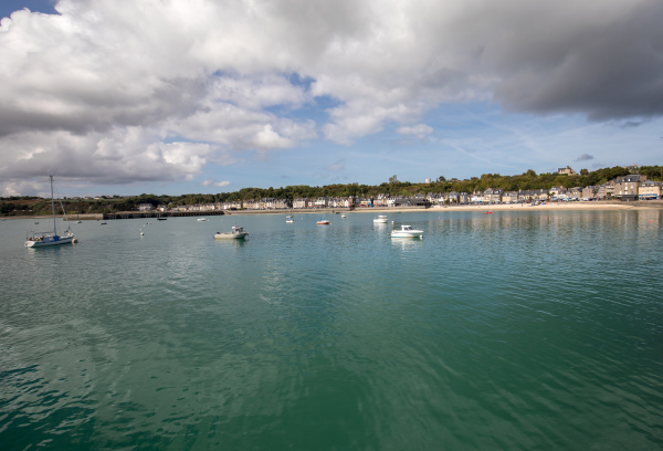 , cancale, , fishing, port, and, famous - 28238015