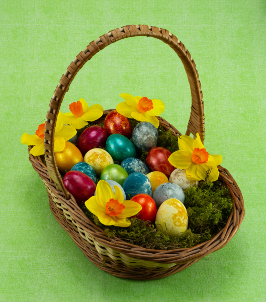 easter, , colored, painted, eggs, in - 28238084