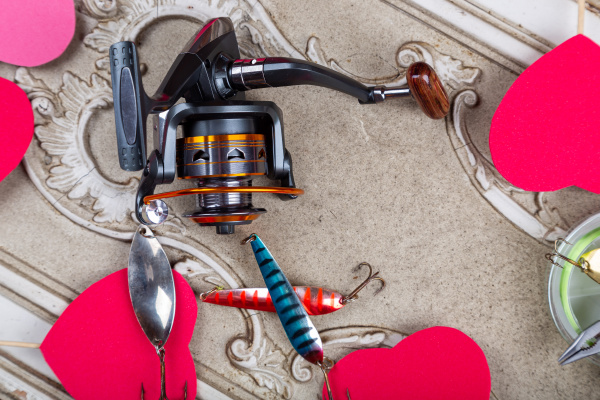 fishing, tackles, , lines, and, reel, with - 28238648