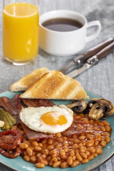 full, englisch, breakfast, on, a, plate - 28238209