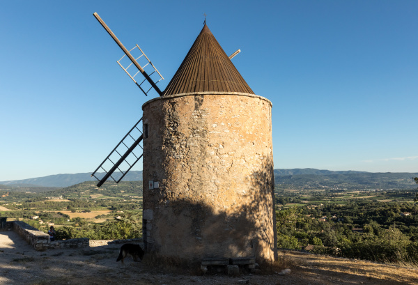 old, windmill, in, saint-saturnin-les-apt, muehle, in - 28238875