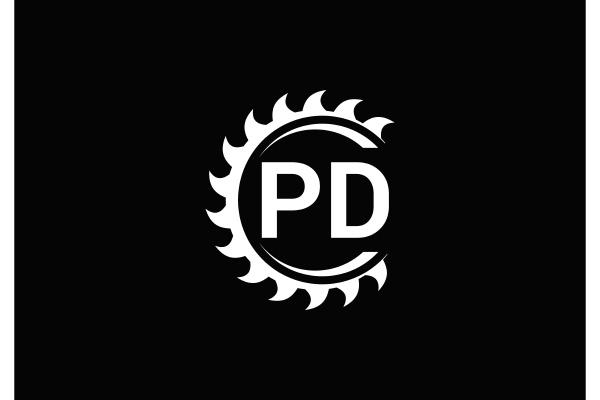 p, d, , pd, initial, letter, logo - 28238110