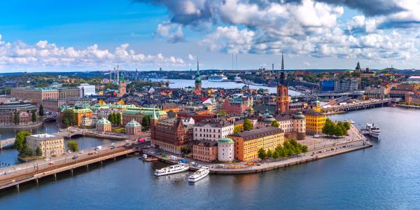 panorama, of, gamla, stan, in, stockholm - 28238228