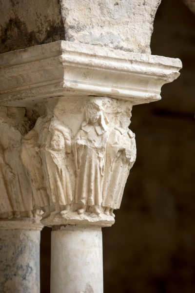 romanesque, capitals, of, the, columns, in - 28238867