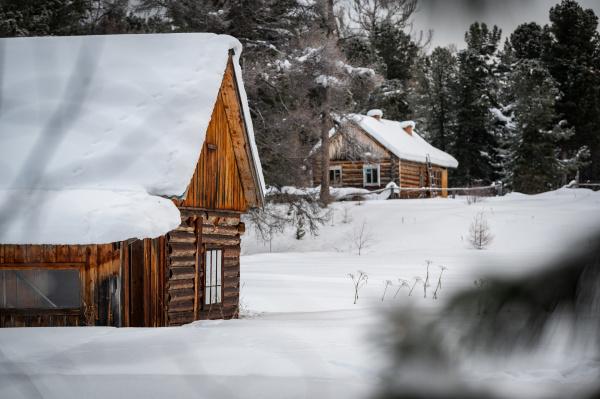 traditional, siberian, house, in, the, davsha - 28238303