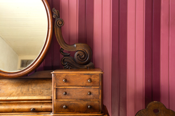 vintage, antique, make, up, table, with - 28238232