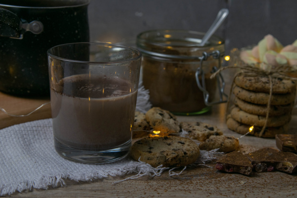 cocoa, with, marshmallows, and, chocolate, oven - 28239844