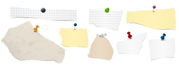 collection, scrap, of, paper - 28239038