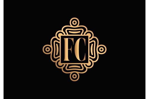 f, c., fc, initial, letter, logo - 28239956