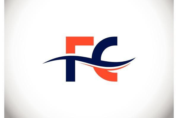 f, c., fc, initial, letter, logo - 28239967