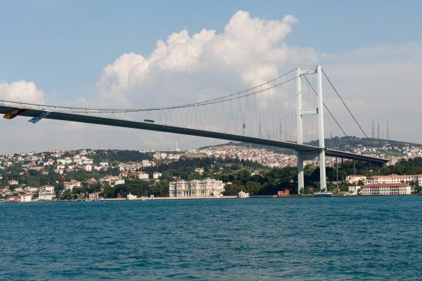 istambul, -, bosporus, bridge, connecting, europe - 28239383