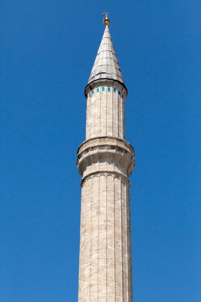 istanbul, -, one, of, minarets, hagia - 28239353