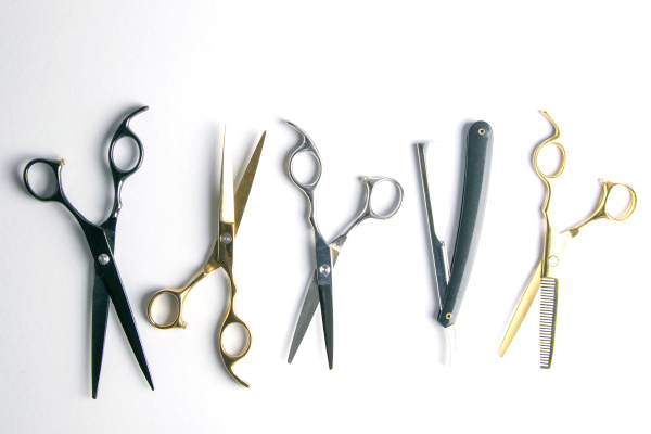 open, scissors, for, haircut, isolated, on - 28239699